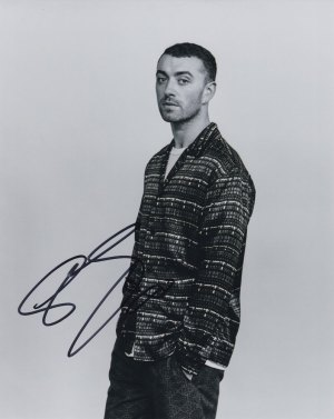 Sam Smith in-person autographed photo