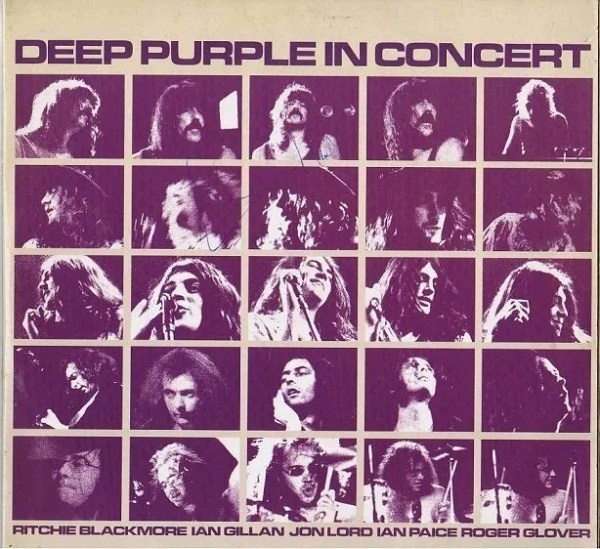 Ian Gillan Autograph Deep Purple In Concert Lp