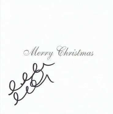 Allan McGregor RANGERS FC Autographed Christmas Card