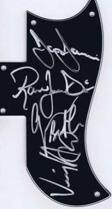 Black Sabbath autographs