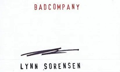 Lynn Sorensen autograph Bad Company
