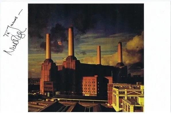 Nick Mason Pink Floyd Autographed photo for sale