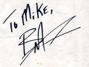 Brandon Lee autographs and autograph examples | Bruce Lee