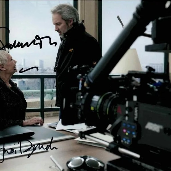 Judi Dench and Sam Mendes Autographs