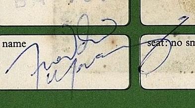 freddie mercury autographs 1980