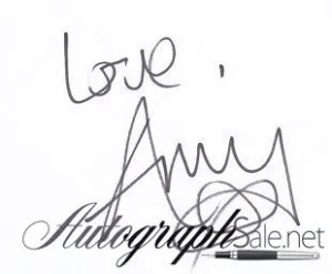 Amy Winehouse autograph 3
