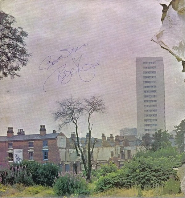 Led Zeppelin 4 autographed by John Bonham, Robert Plant and John Paul Jones
