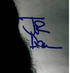 John Deacon queen autographs 8x10 1