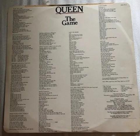 Queen Autographs The Game Lp – Freddie Mercury