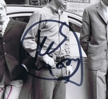 the who signed photo