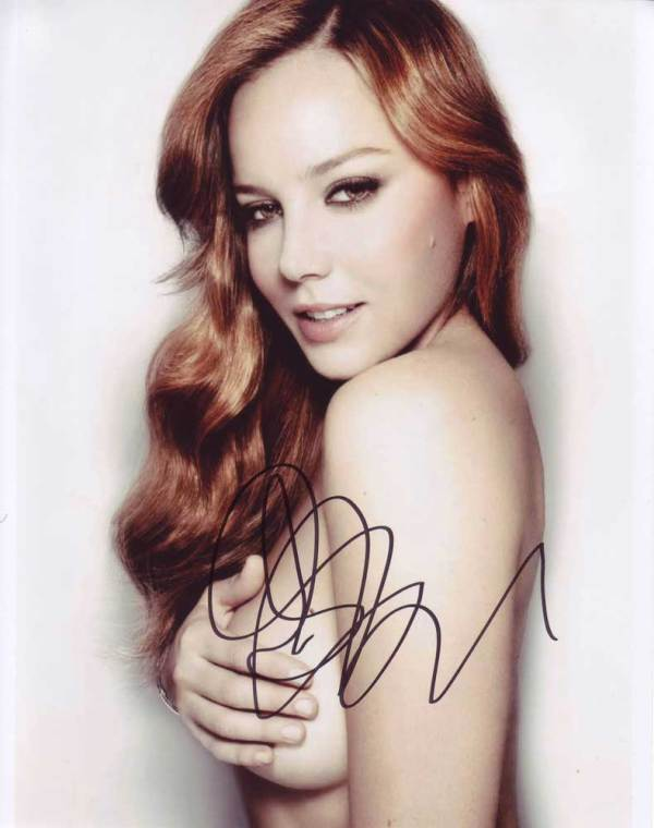 Abbie Cornish in-person autographed photo