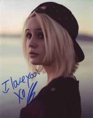 Beatrice Miller In-person Autographed Photo