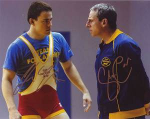 Foxcatcher In-person autographed Cast Photo