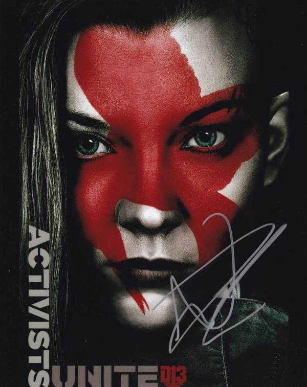 Natalie Dormer in-person autographed photo