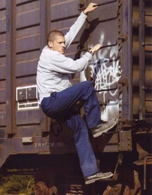 Wentworth Miller in-person autographed photo