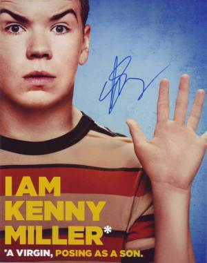 Will Poulter in-person autographed photo