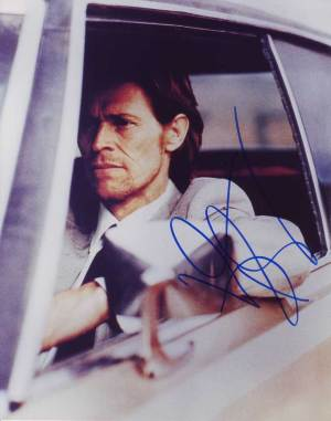 Willem Dafoe in-person autographed photo