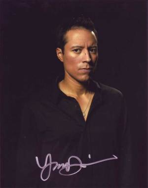 Yancey Arias in-person autographed photo