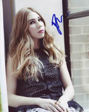 Zosia Mamet in-person autographed photo