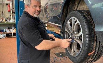 Reifenwechsel bei CARPORT in Buchholz