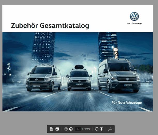 Autohaus Halstenberg - vw Nutzfahrzeuge Zubehörkatalog online durchblättern