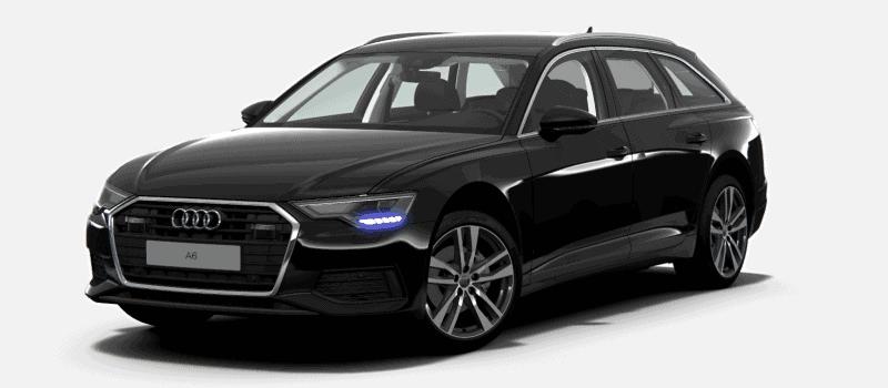 Autohaus Halstenberg Audi A6 Frontansicht