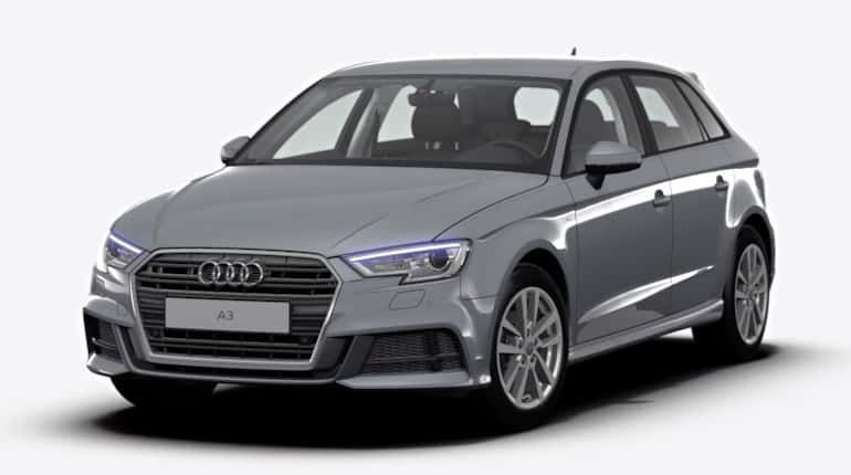 Autohaus Halstenberg - Audi A3 Sportback 1.5 TFSI Stronic grau