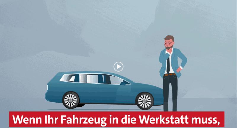 Autohaus Halstenberg - Werkstattersatzwagen