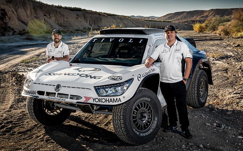 Im SsangYong Tivoli bei der härtesten Rallye der Welt