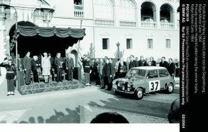 1964 monte carlo rally Hopkirk/Lidden mini cooper s.