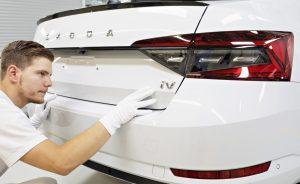 Škoda Superb iV, výroba