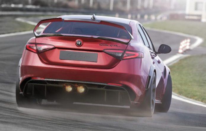 Alfa romeo Giulia GTAm 2020 0