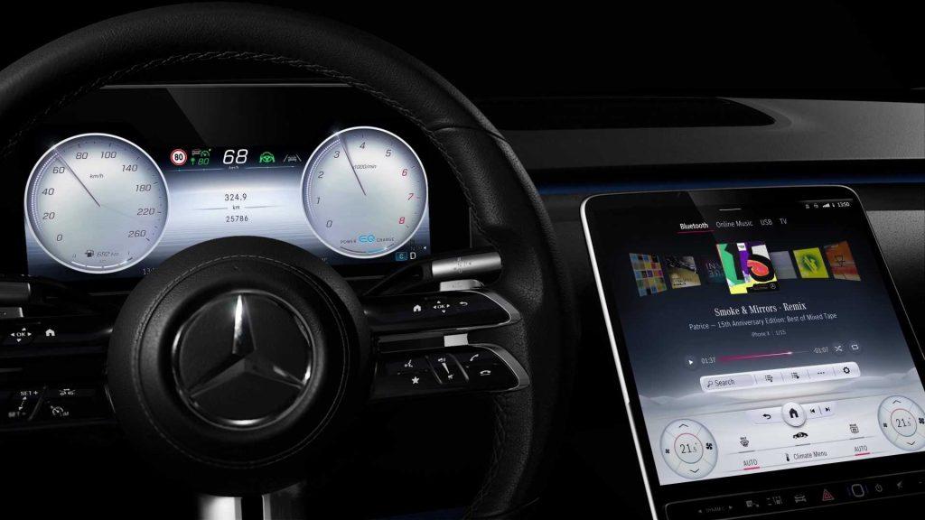 Mercedes-Benz S-Class, MBUX 4
