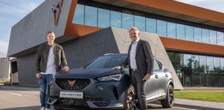 CUPRA kicks off production of the new Formentor2
