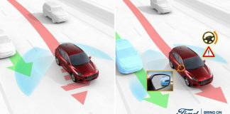 Blind Spot Assist technology can help prevent lane change accide