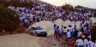 rally acropolis Subaru mcrae 1993