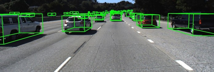 LiDAR Annotation Projected on Image