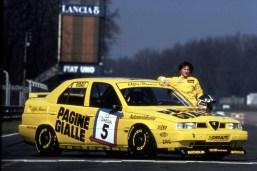03_Tamara Vidali - Monza circuit 1994 - Alfa Romeo 155 D2