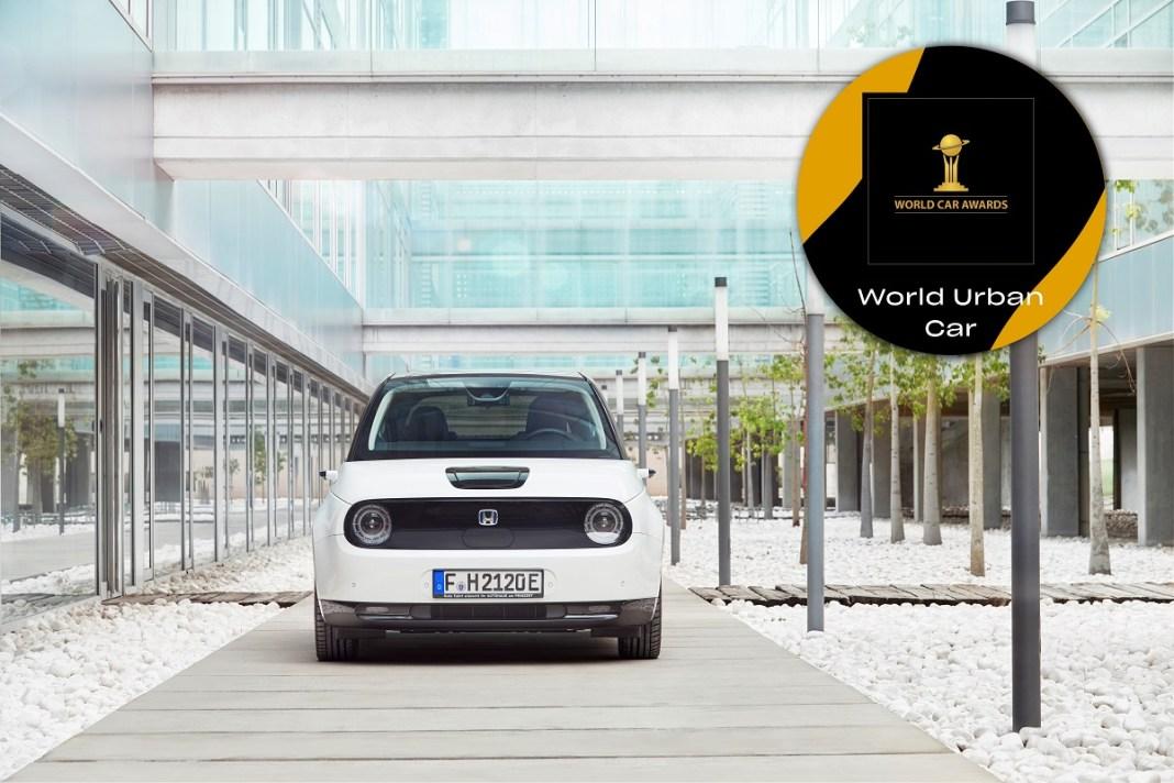 HONDA e TRIUMPHS AT 2021 WORLD CAR AWARDS