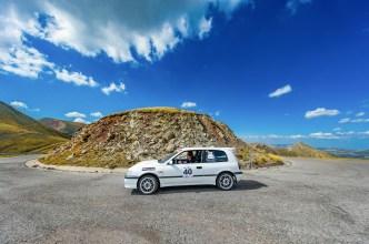 Fabiatou Ismini - Razis Dimitris - Nissan Sunny GtiR 1991