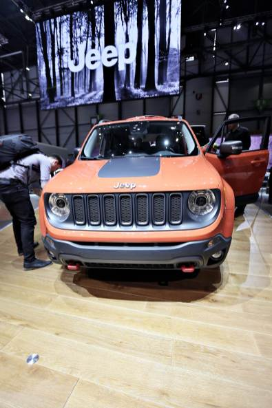 Jeep Renegade 30 Genf 2014