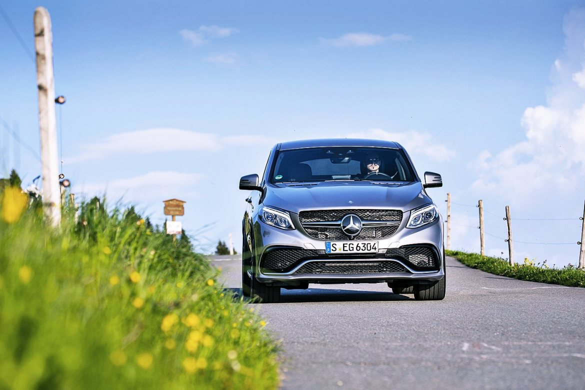 Fahrbericht 07 mercedes-amg GLE coupe 63 amg s