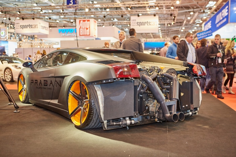 Motorshow Essen 2015002 Praban Gallerdo V10 Bi-Turbo