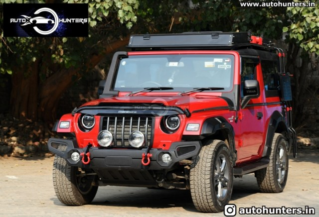 Modified New 2020 Mahindra Thar