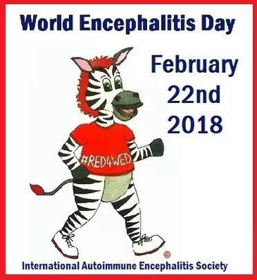 Raising Awareness For Autoimmune Encephalitis Through February Until World Encephalitis Day February 22nd
