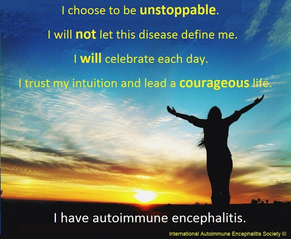 I have AE Sarah - Memes About Autoimmune-Encephalitis