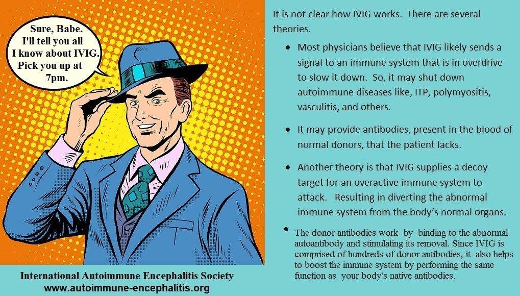 IVIG 2 - Memes About Autoimmune-Encephalitis