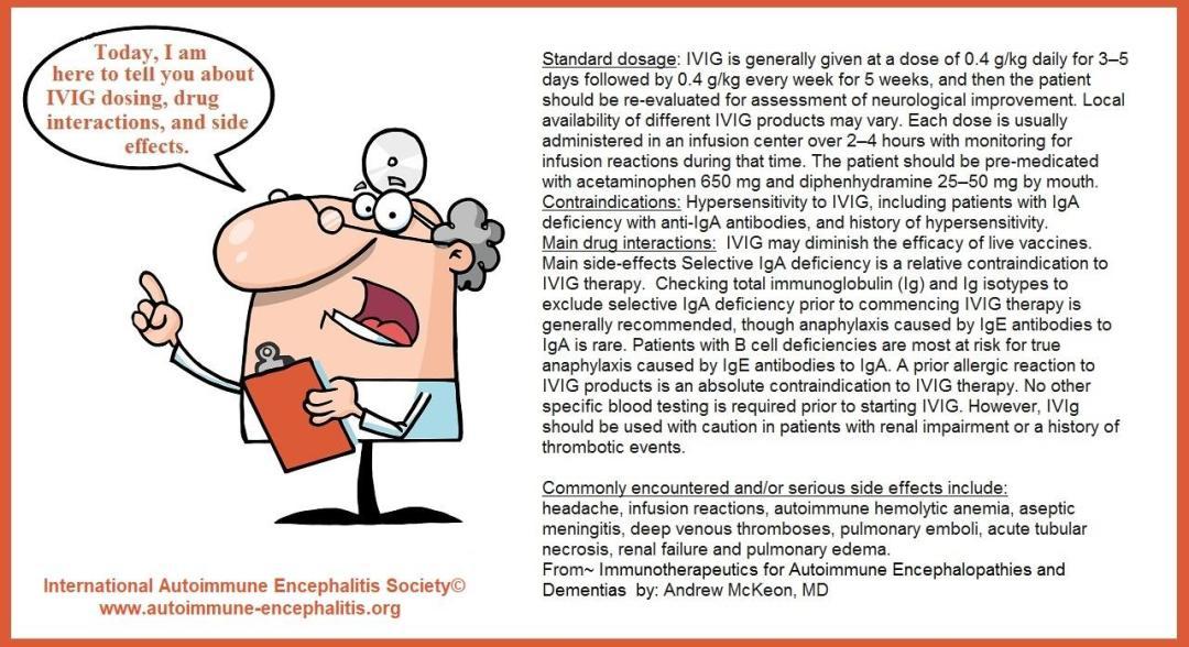 IVIG 3 - Memes About Autoimmune-Encephalitis