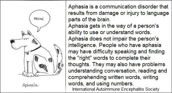aphasia 2 - Memes About Autoimmune-Encephalitis