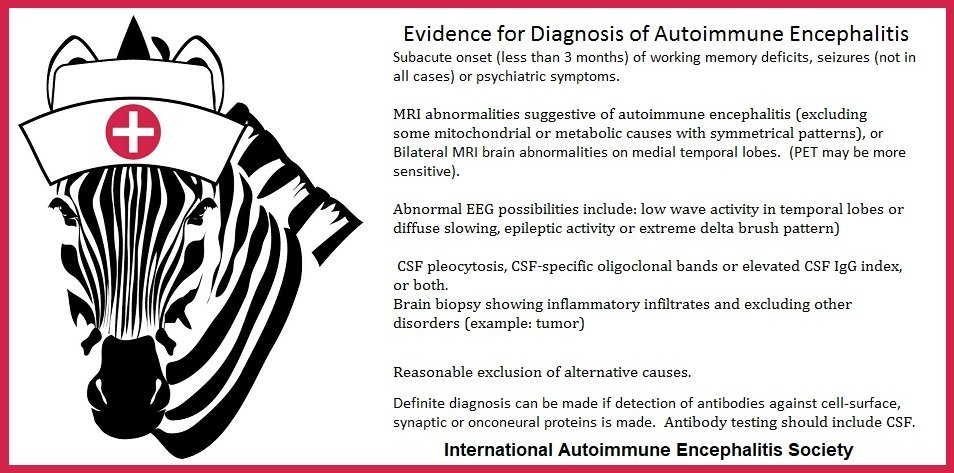 evidence for dx of AE - Memes About Autoimmune-Encephalitis